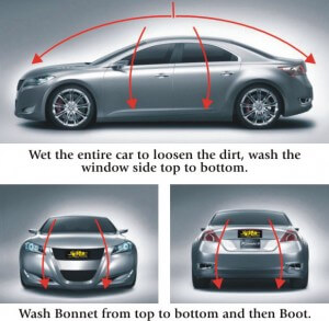car washing